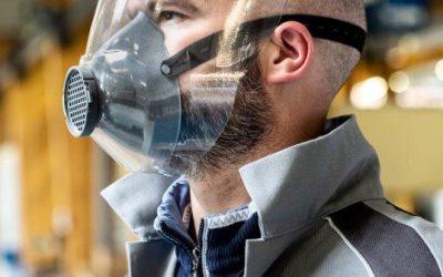 Dedienne Multiplasturgy® Group a conçu des masques réutilisables à l'infini, à partir de matières bio sourcées, baptisés Protectiv™
