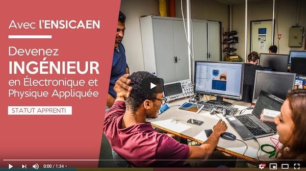 ENSICAEN : vidéos des formations et présentation des projets