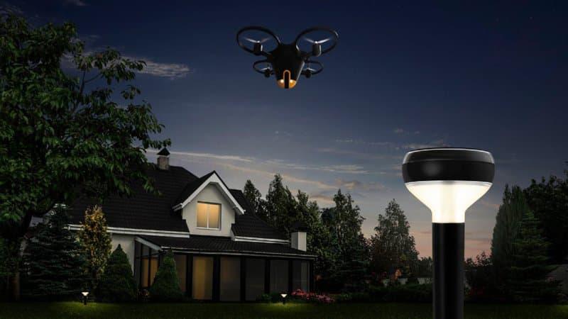 Pour 10.000 dollars, ce drone patrouille pour surveiller votre maison