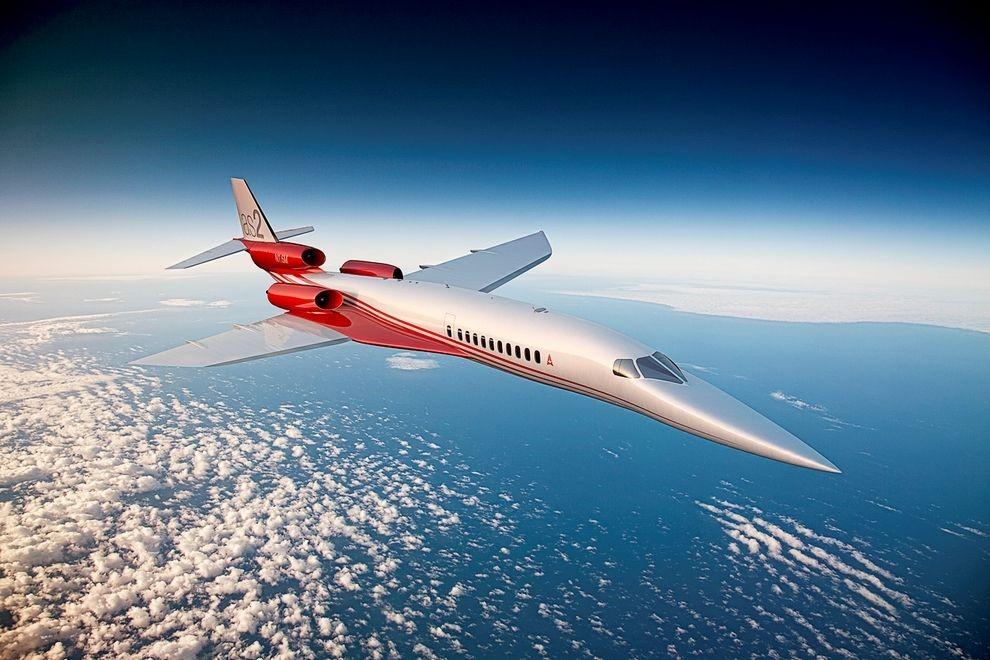 Collins Aerospace a été sélectionné par Aerion Supersonic
