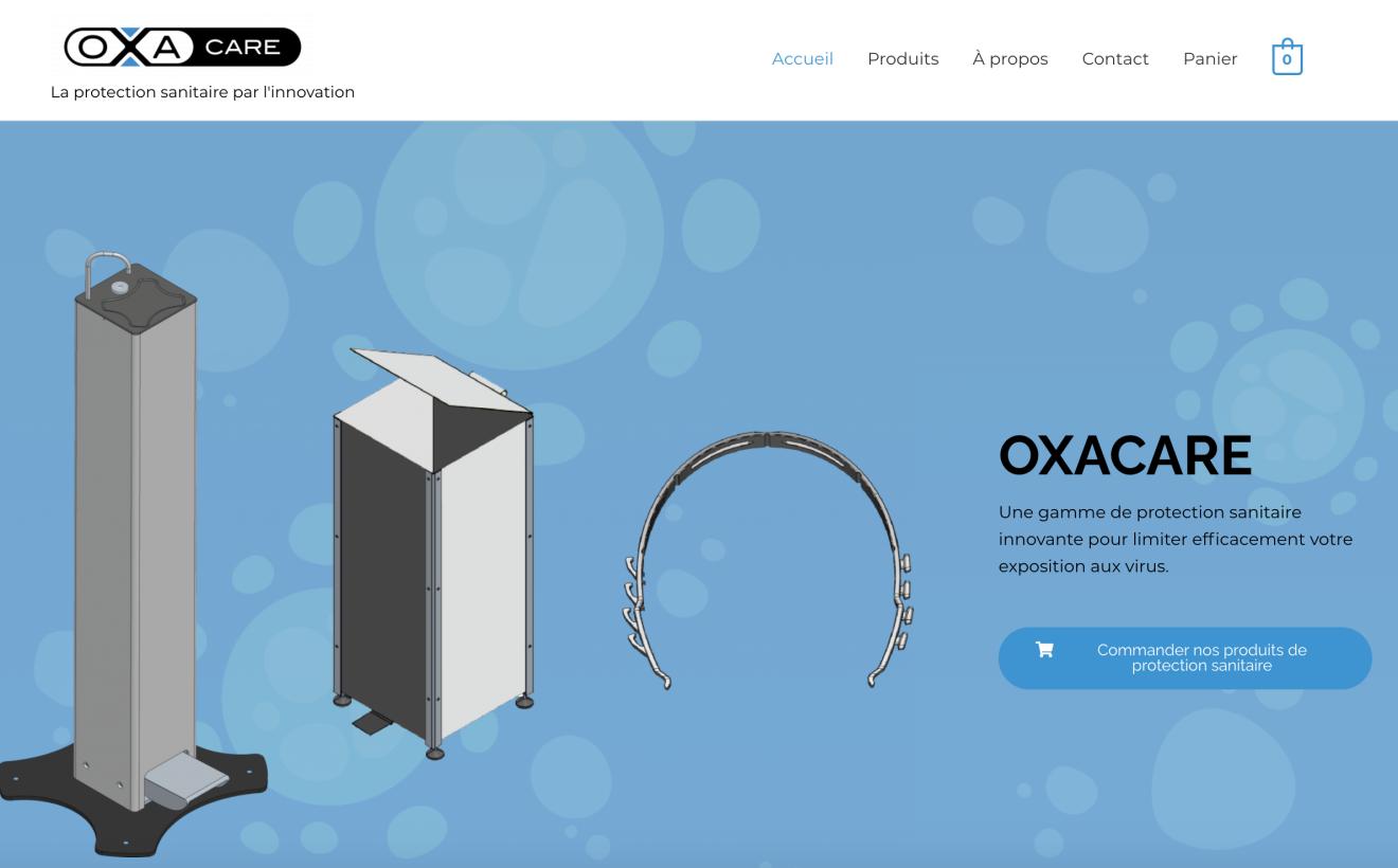 Calip Group inaugure un nouveau site pour présenter et distribuer Oxacare