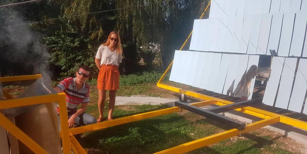 CPM Industries construit un four à pain solaire de 11 m²