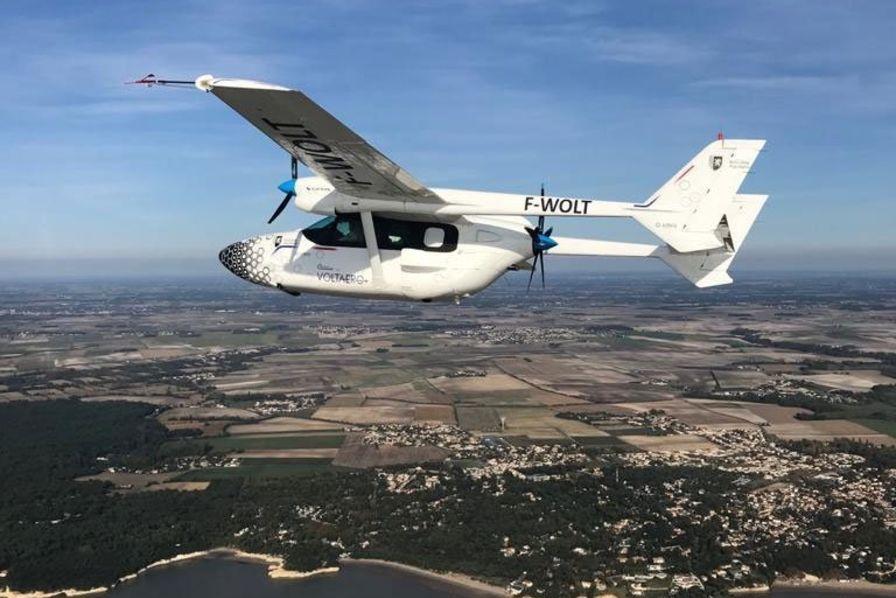 Le démonstrateur d'avion hybride électrique de VoltAero va entamer un tour de France – L'Usine Aéro
