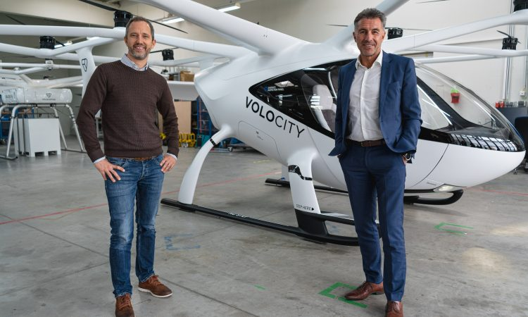 Volocopter et Lufthansa Industry Solutions s'associent pour développer la plateforme de connexion numérique de l'écosystème UAM