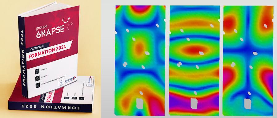 Groupe 6NAPSE - Innovation : déformation d'une pièce sous contrainte vibratoire et nouvelle offre de formations