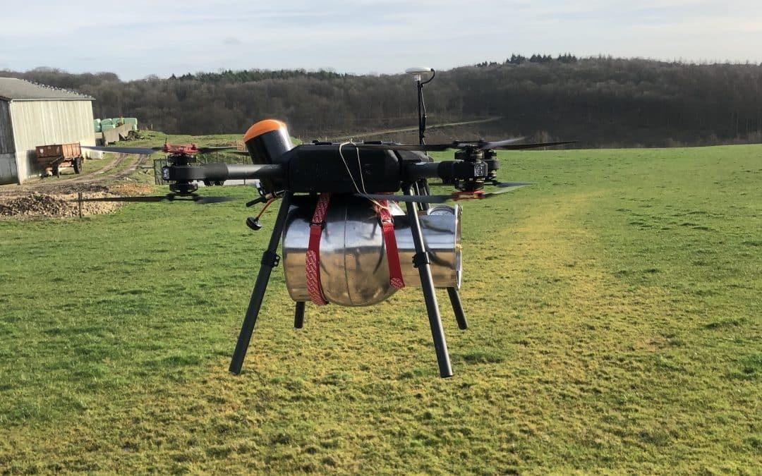 La Recherche et l'Innovation sur les Drones s'intensifient en Normandie