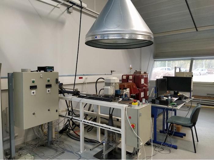 INSA : Projet Aeroflamme, un banc d'essais à la croisée des compétences GPM/CORIA