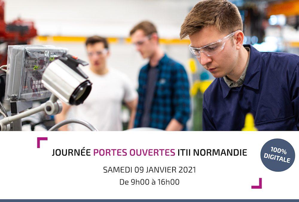 2ème Journée Portes Ouvertes 100% digitale de l'ITII Normandie