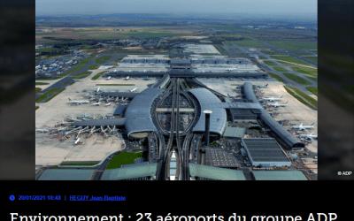 Environnement : 23 aéroports du groupe ADP signent une charte