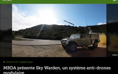 MBDA présente Sky Warden, un système anti-drones modulaire