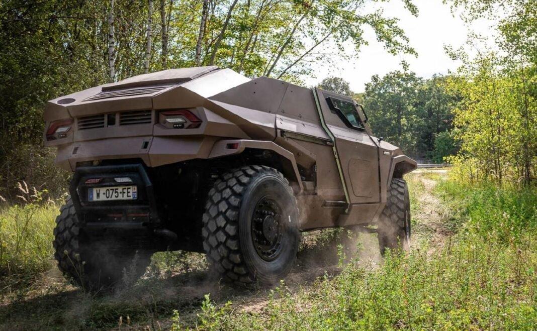 Arquus launches its futuristic armored vehicle at IDEX 2021