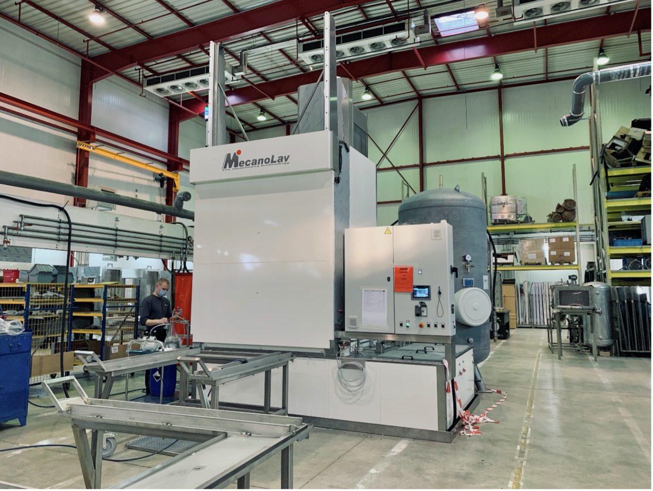 MecanoLav - Lavage final de pièce moteur aéronautique avec contrôle de propreté