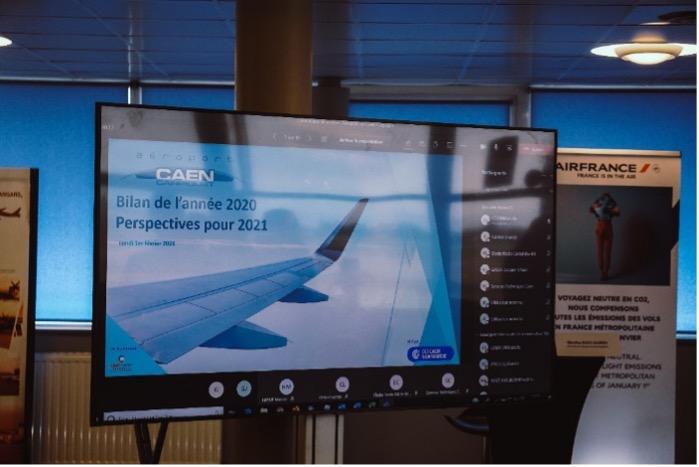 2021 perspectives pour l'aéroport de Caen Carpiquet – Ouverture d' une ligne à destination de Montpellier avec Volotea