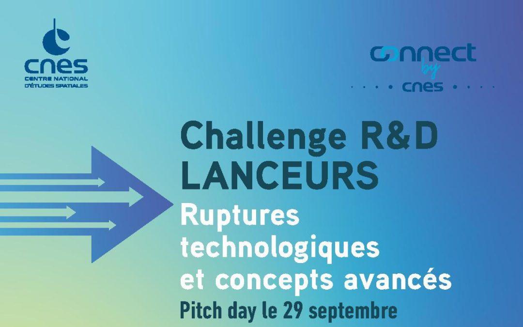 Challenge R&D CNES 2021 : Appel à projet – Ruptures technologiques et concepts avancés
