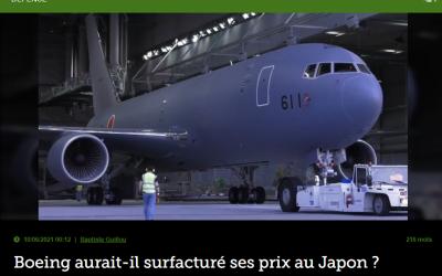 Boeing aurait-ilsurfacturé ses prix au Japon ?