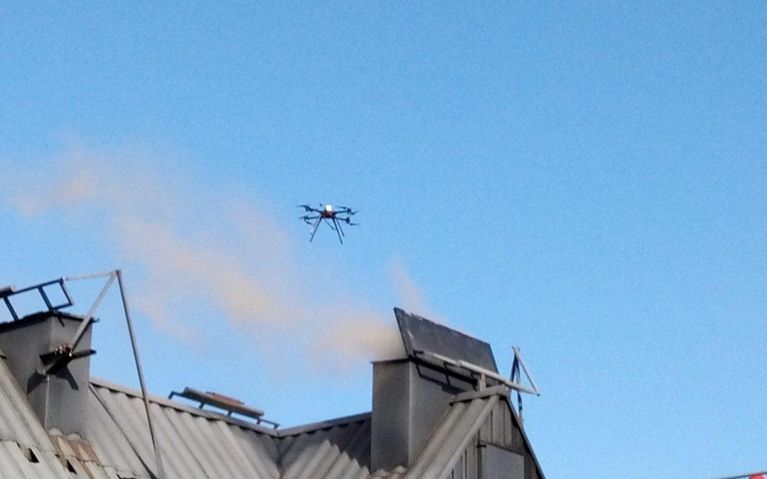 Lancement du projet DESIHR: Drones en Essaim pour la Surveillance des sites Industriels à Hauts Risques