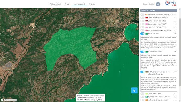 Air Space Drone étend les données disponibles pour les opérateurs de drones, ajoutant des sites de faune et de flore du patrimoine national