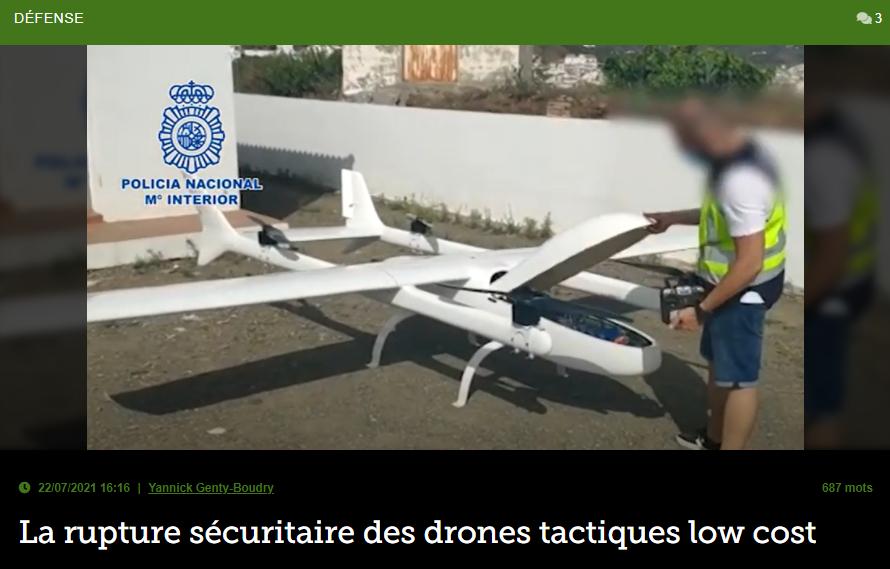 La rupture sécuritaire des drones tactiques low cost