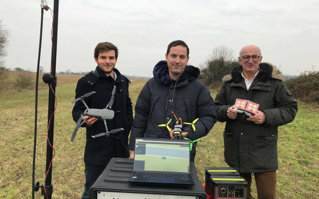 Les succès des PME-ETI NAE : Drone XTR (76) expérimente un nouveau service de contrôle de l'espace aérien étendu sur des complexes industriels