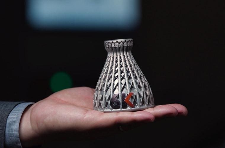 6K fait la démonstration de sa technologie en lançant de nouveaux superalliages pour la fabrication additive métallique