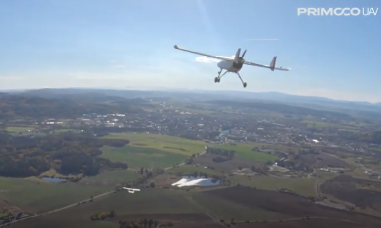 Drone swarm control and airspace integration moves a step closer after Primoco UAV flight tests in Czech Republic – Unmanned airspace